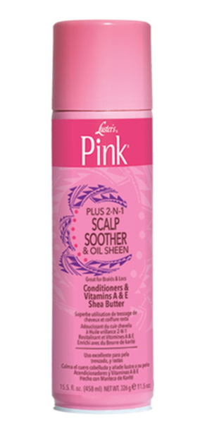 LUSTER'S® PINK® SCALP SOOTHER SPRAY 2-IN-1 (15.5OZ)