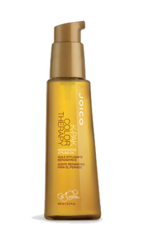 JOICO K-PAK COLOR THERAPY RESTORATIVE STYLING OIL 3.4OZ