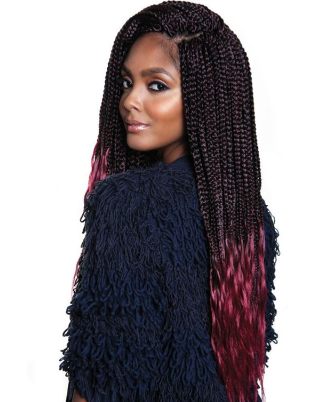 AFRI - BOX305-3X-KRITZ BOX BRAID 24