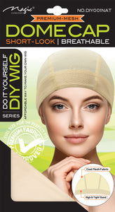 MAGIC® DIY WIG : DOME STYLE MESH WIG CAP (NATURAL)