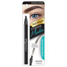 Load image into Gallery viewer, MAGIC® EYEBROW MARKER - UNIVERSAL BROWN