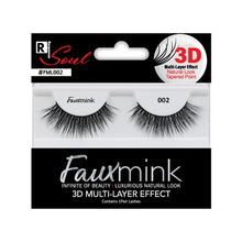Load image into Gallery viewer, RESPONSE SOUL 3D MULTI LAYER EFFECT FAUX MINK EYELASHES #FML002