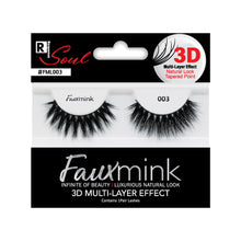 Load image into Gallery viewer, RESPONSE SOUL 3D MULTI LAYER EFFECT FAUX MINK EYELASHES #FML004