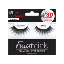 Load image into Gallery viewer, RESPONSE SOUL 3D MULTI LAYER EFFECT FAUX MINK EYELASHES #FML008S