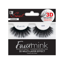 Load image into Gallery viewer, RESPONSE SOUL 3D MULTI LAYER EFFECT FAUX MINK EYELASHES #FML009