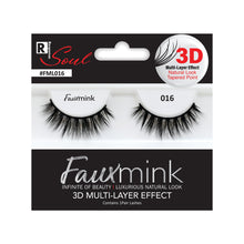 Load image into Gallery viewer, RESPONSE SOUL 3D MULTI LAYER EFFECT FAUX MINK EYELASHES #FML016