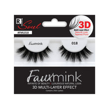 Load image into Gallery viewer, RESPONSE SOUL 3D MULTI LAYER EFFECT FAUX MINK EYELASHES #FML018