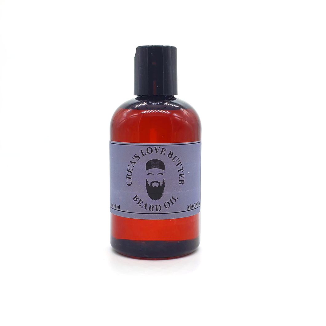 CRE'A'S LOVE BUTTER BEARD OIL - MAGNUM 40Z