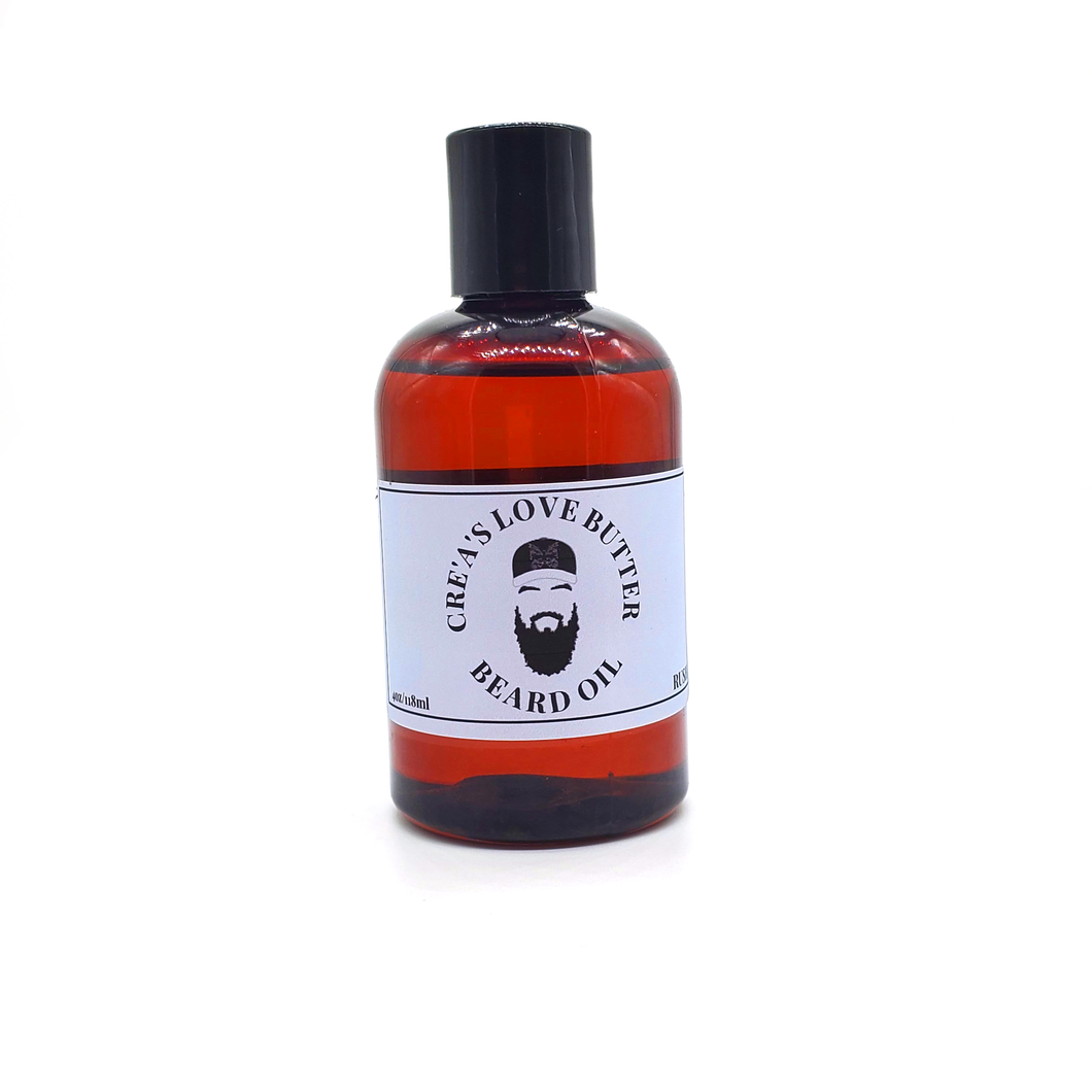 CRE'A'S LOVE BUTTER BEARD OIL - RUSH 40Z