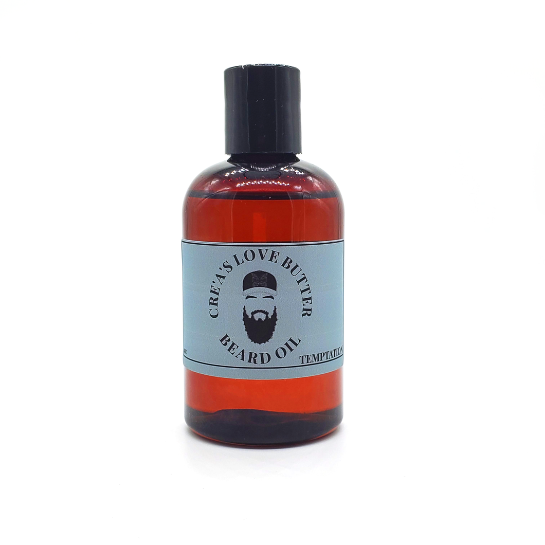 CRE'A'S LOVE BUTTER BEARD OIL - TEMPTATION 40Z
