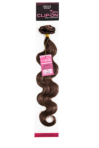 FASHION WORLD - ONYX® 7 PIECE CLIP-ON - BODY WAVE