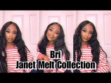 Load and play video in Gallery viewer, JANET COLLECTION® MELT EXTENDED PART LACE WIG - BRI