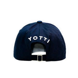 Yotti Distressed Cap | Navy White