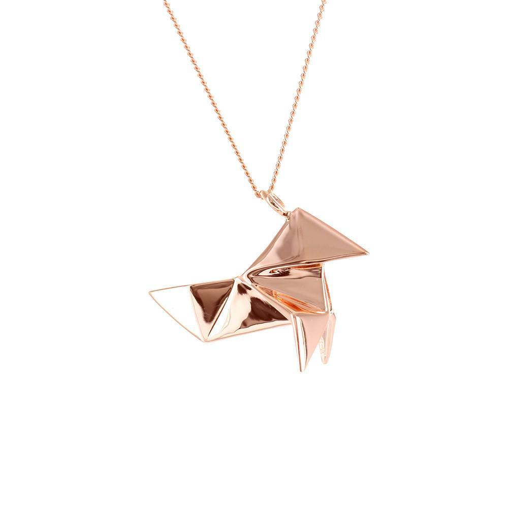 Cuckoo Necklace - Origami Jewellery - THE POMMIER - 3