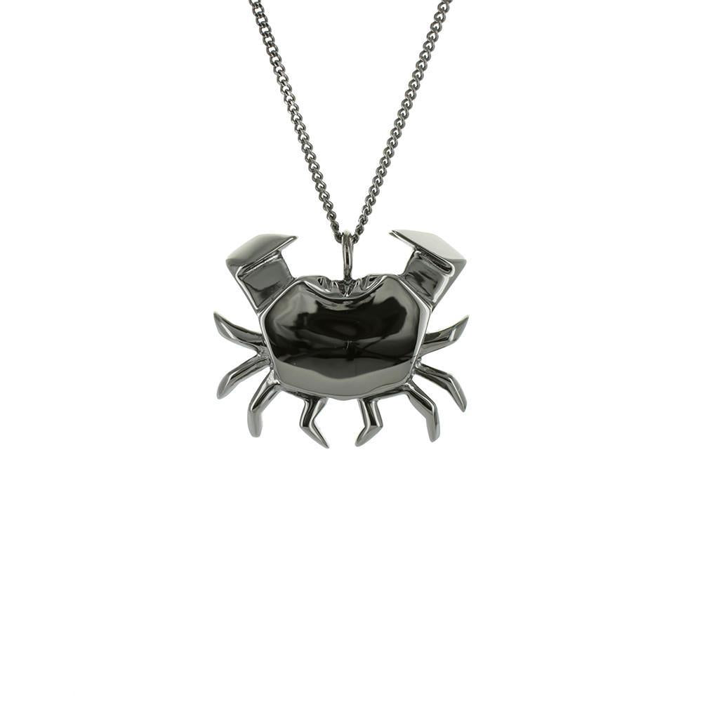 Crab Necklace - Origami Jewellery - THE POMMIER - 3