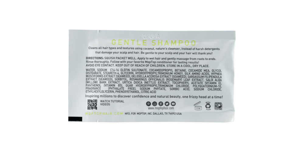 MopTop Gentle Shampoo - Sample Packet