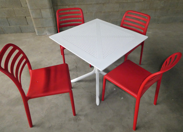 Clip 80/Costa Bistrot - 5 Piece Dining Setting