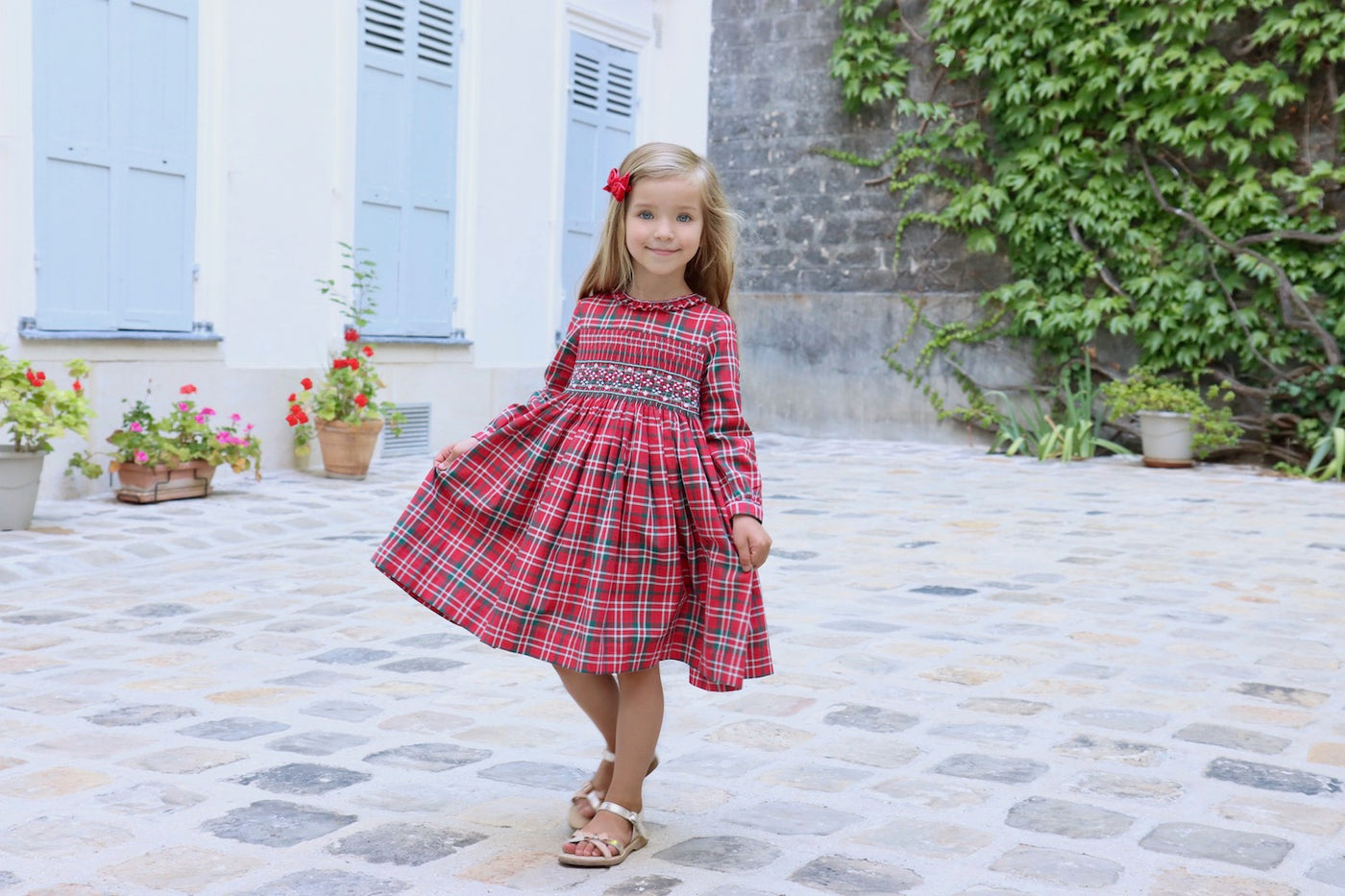 charlotte sy dimby christmad dresses baby and girl classic frenchstyle