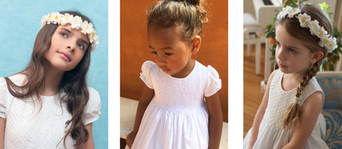 Handmade smocked dresses for little girls all around the world - a precious heritage