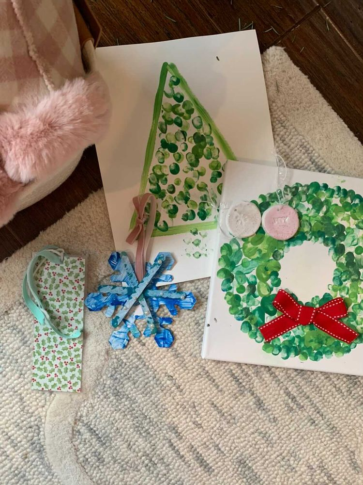 Christmas families act of kindness - crafts with children