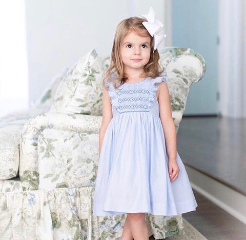 October trunk show in Atlanta with Emily Hertz smocked dresses