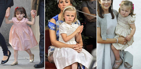 From left to right Suri Cruise in 2008 - Princess Louise of Belgium in 2009 - Princess Isabella of Denmark in 2009 on purepeople.com