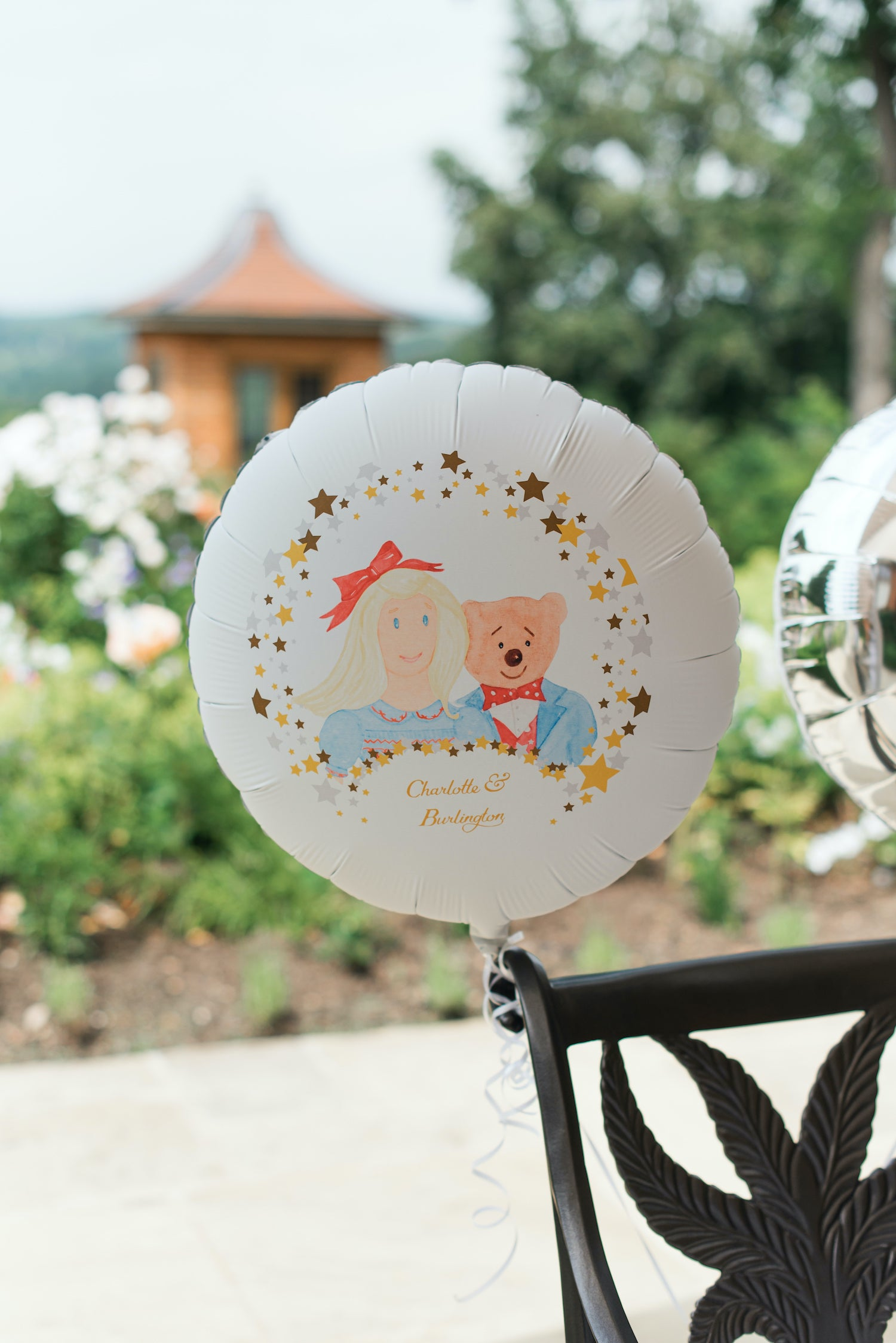 Personalised party balloon