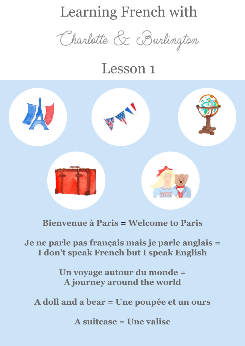 Learning French for children