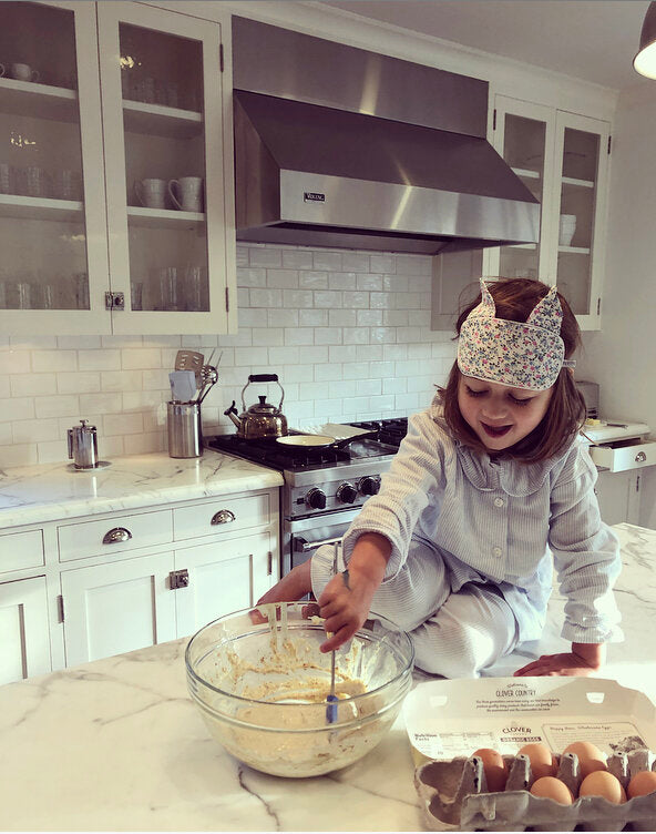 Cooking with children - Caitlin from San Francisco and her family  - Charlotte sy Dimby