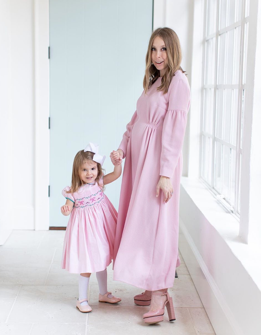 Born on Fifth and Charlotte sy Dimby smocked dress
