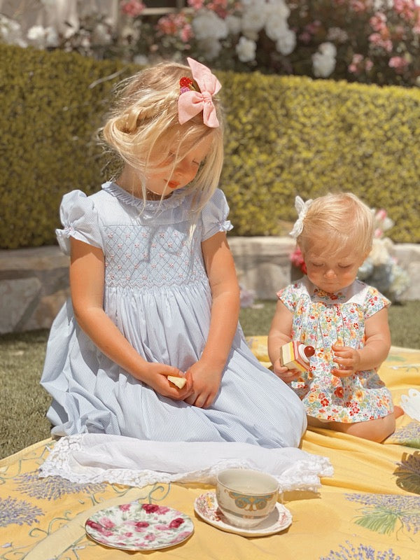 Children's californian tea party inspiration