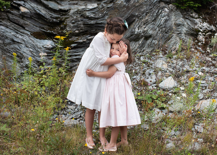 Celebrating the magic of childhood - Classic chic handmade traditional smocked dresses for babies and girls by Charlotte sy Dimby