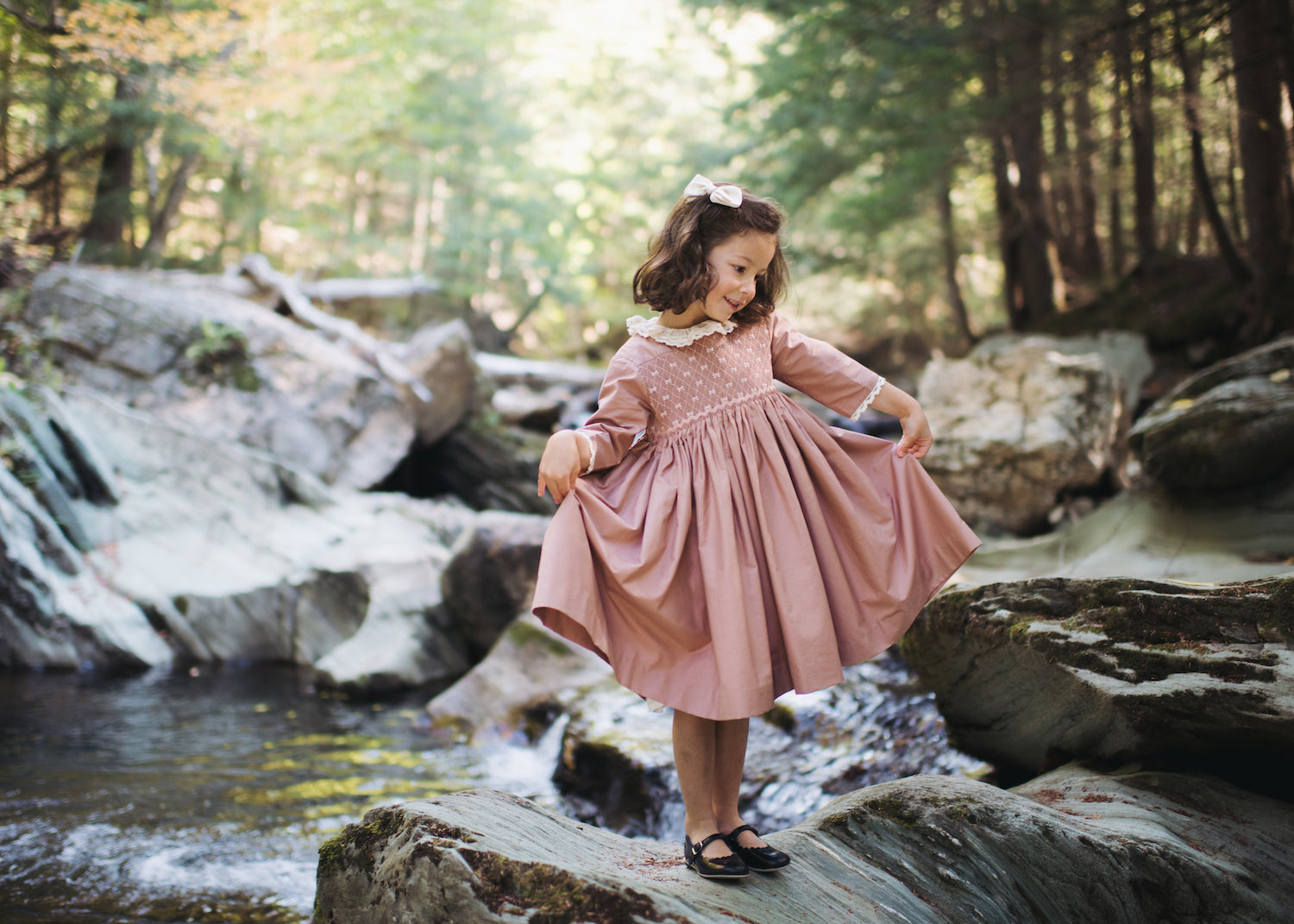 Charlotte sy Dimby smocked dresses for children
