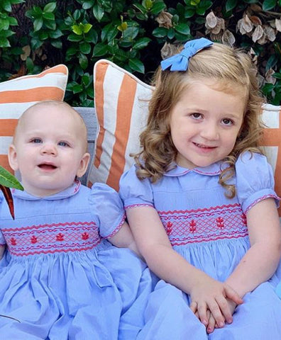princess charlotte smocked dress america matching outfits