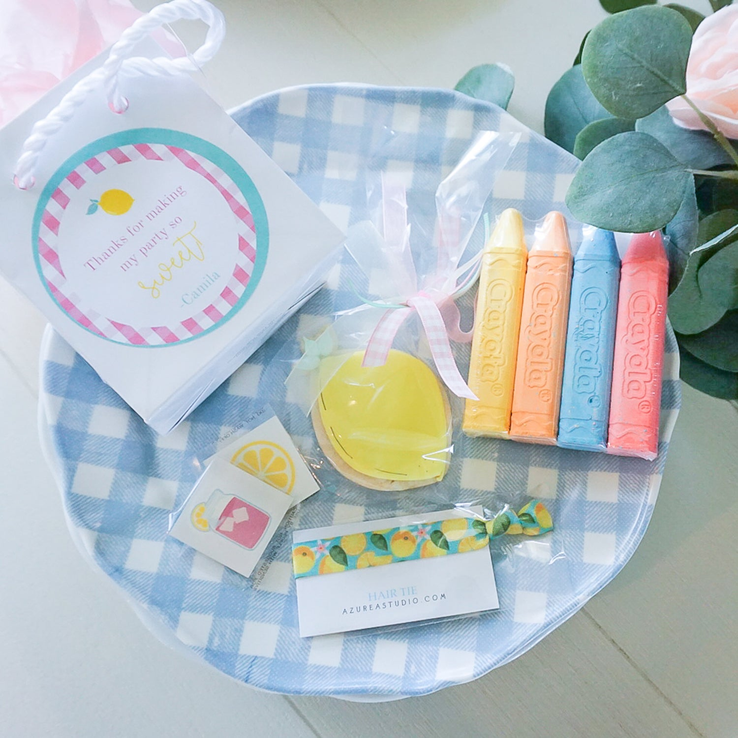 Meg Mason, mothers share - Celebrating the magic of childhood - Lemon and gingham birthday party