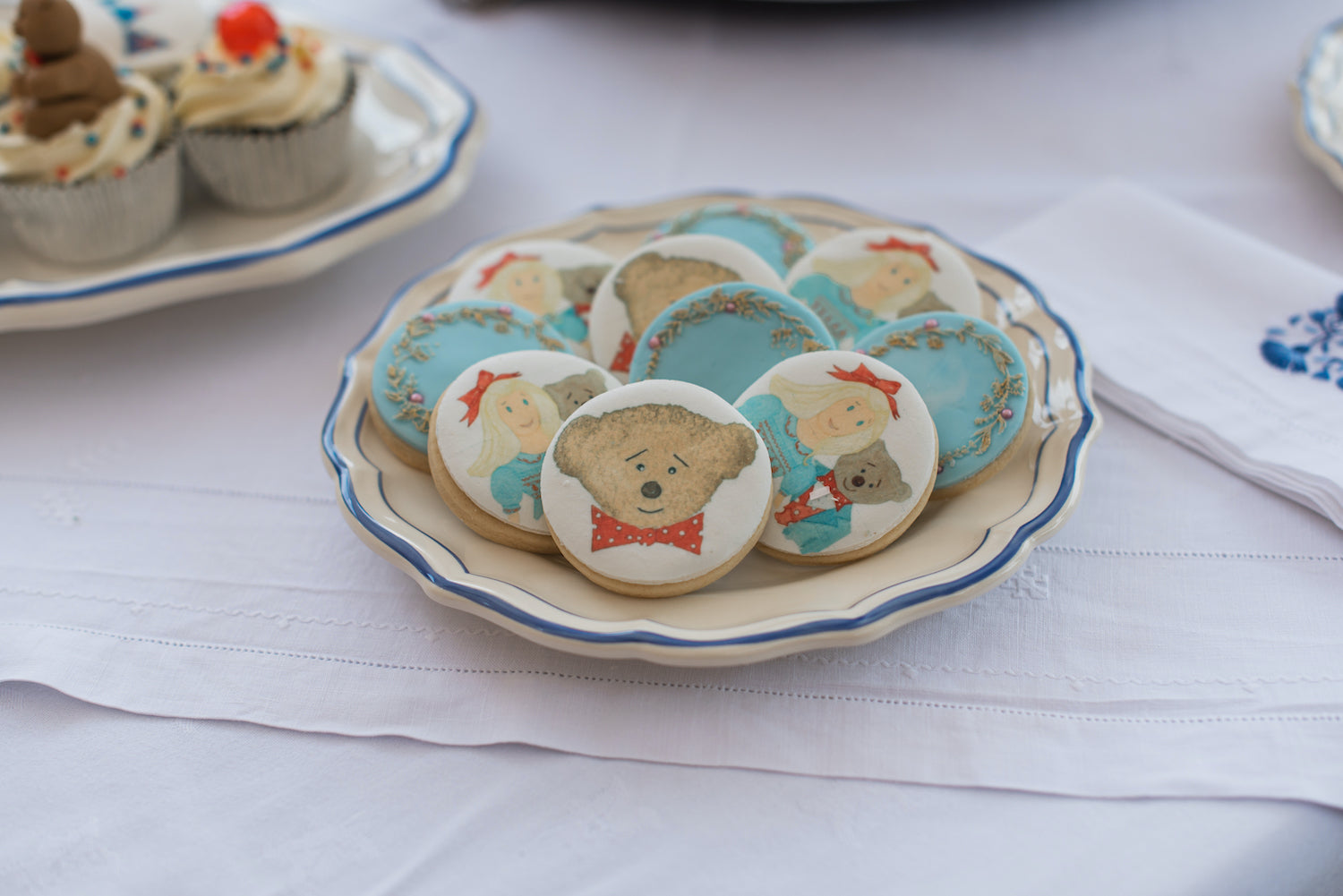 Charlotte and Burlington bear party biscuits