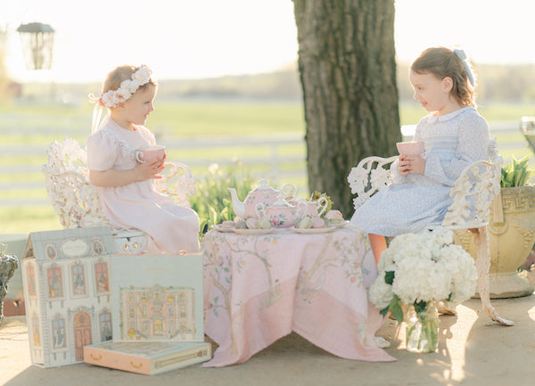 Children's cinderella tea party inspiration