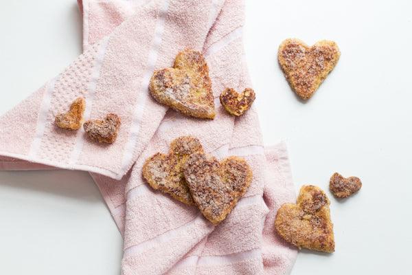 Heart Churro Valentine's day cooking