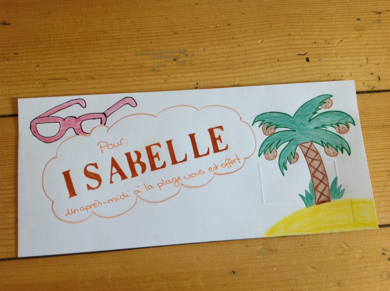 My special envelope - easy and fun craft for kids Charlotte sy Dimby