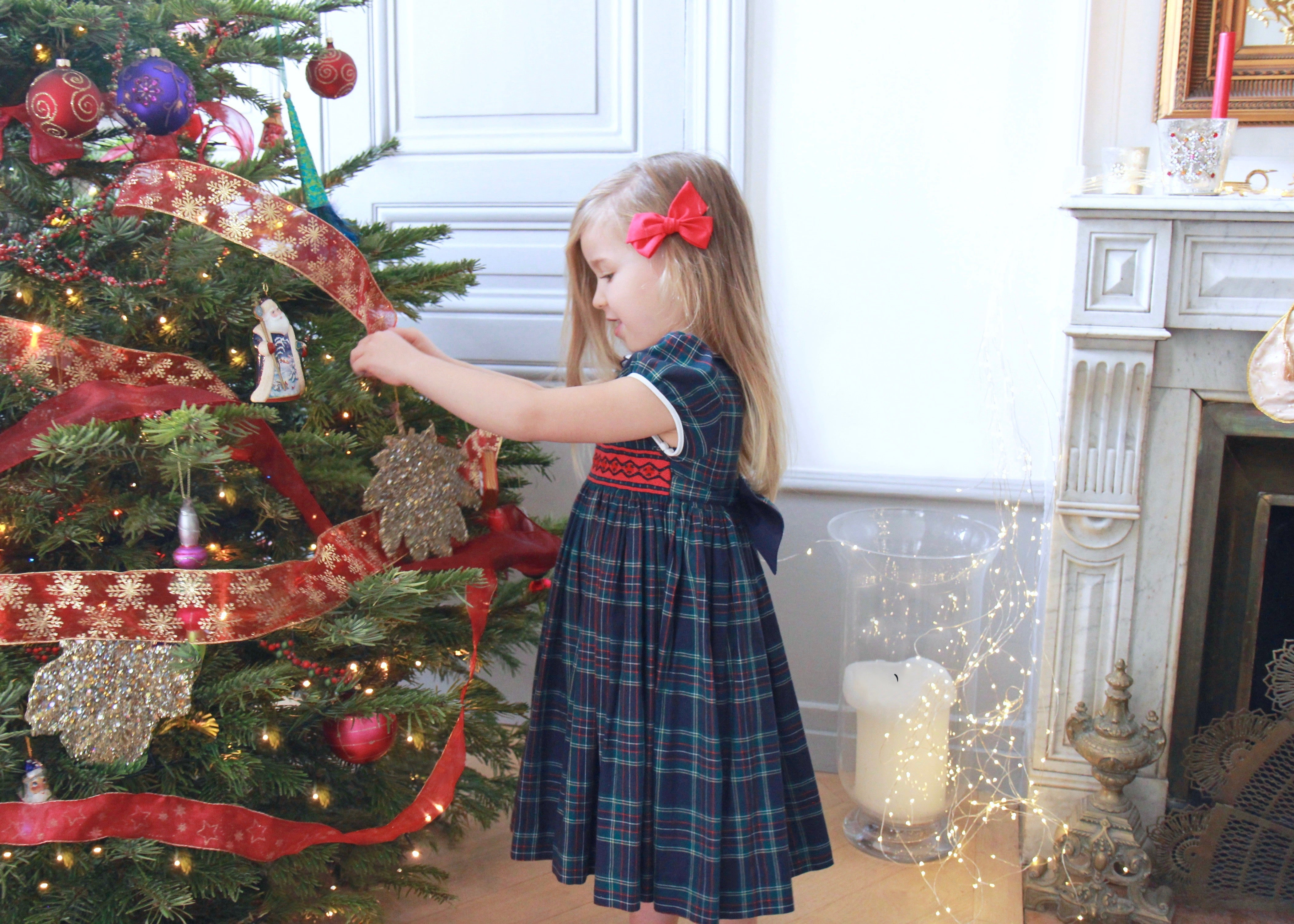Charlotte sy Dimby's count down to Christmas, inspiring family ideas during Advent - Smocked dresses