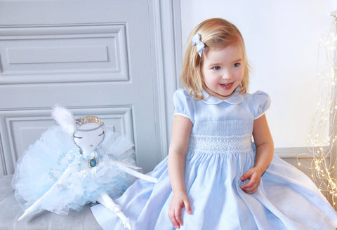Smocked dresses - handmade