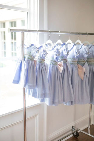 light blue smocked dresses charlotte sy dimby atlanta us