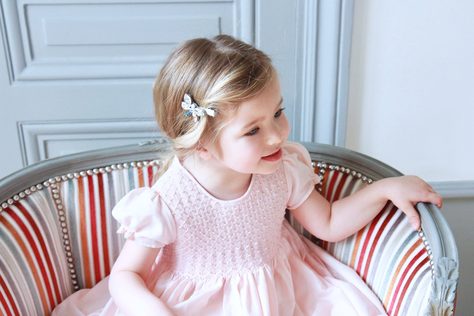 charlotte sy dimby  handmade French style smocked dresses for babies and girls