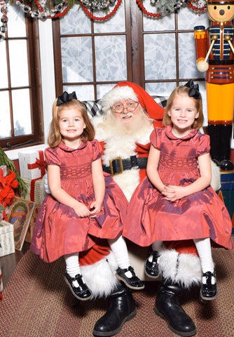 happy client christmas smocked dresses baby girl charlotte sy dimby party style