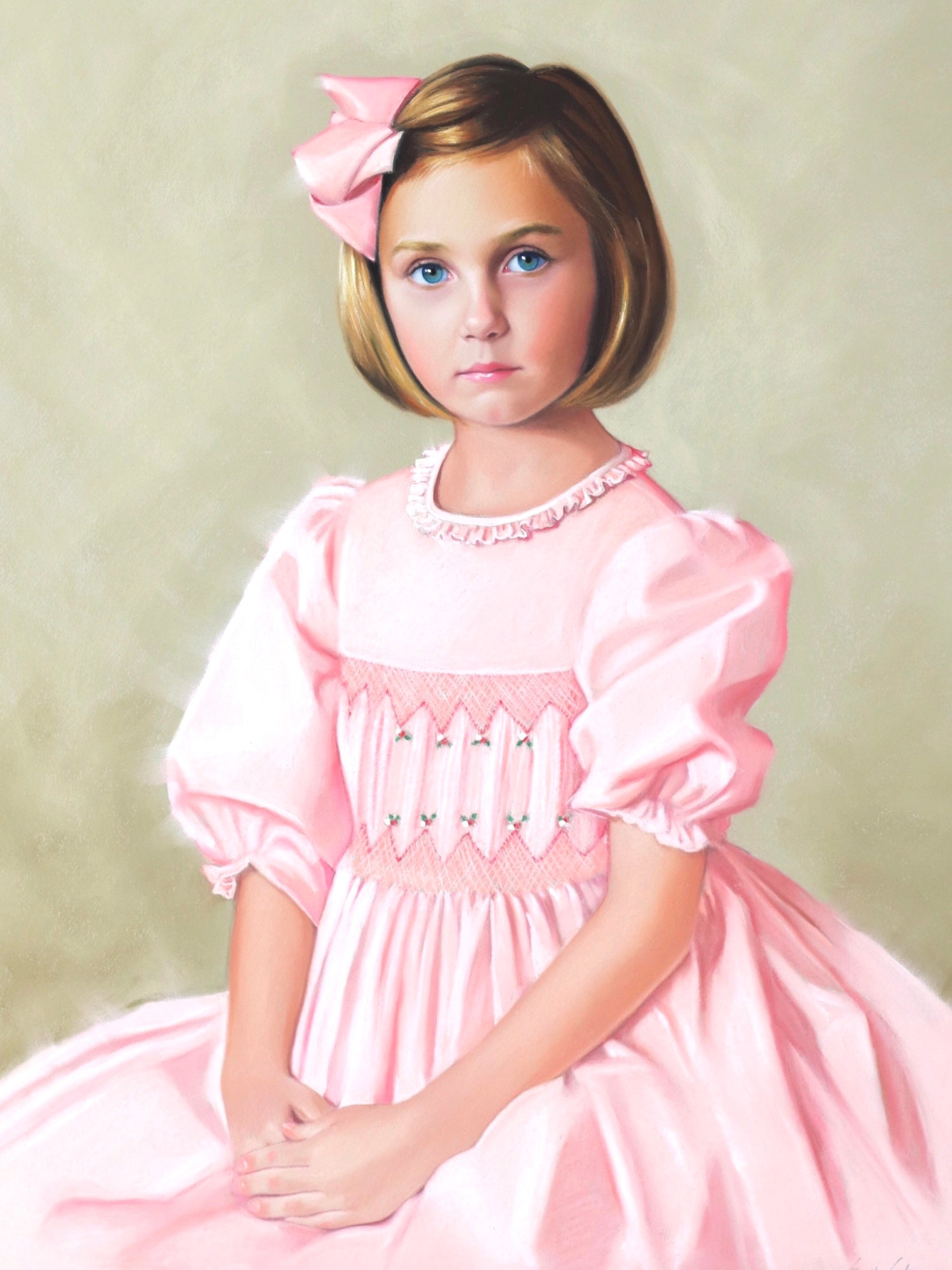 Sally Gates pastel portrait artist - Celebrating the magic of childhood
