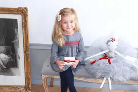 La Française Paris handmade luxury dolls Christmas gift idea - children