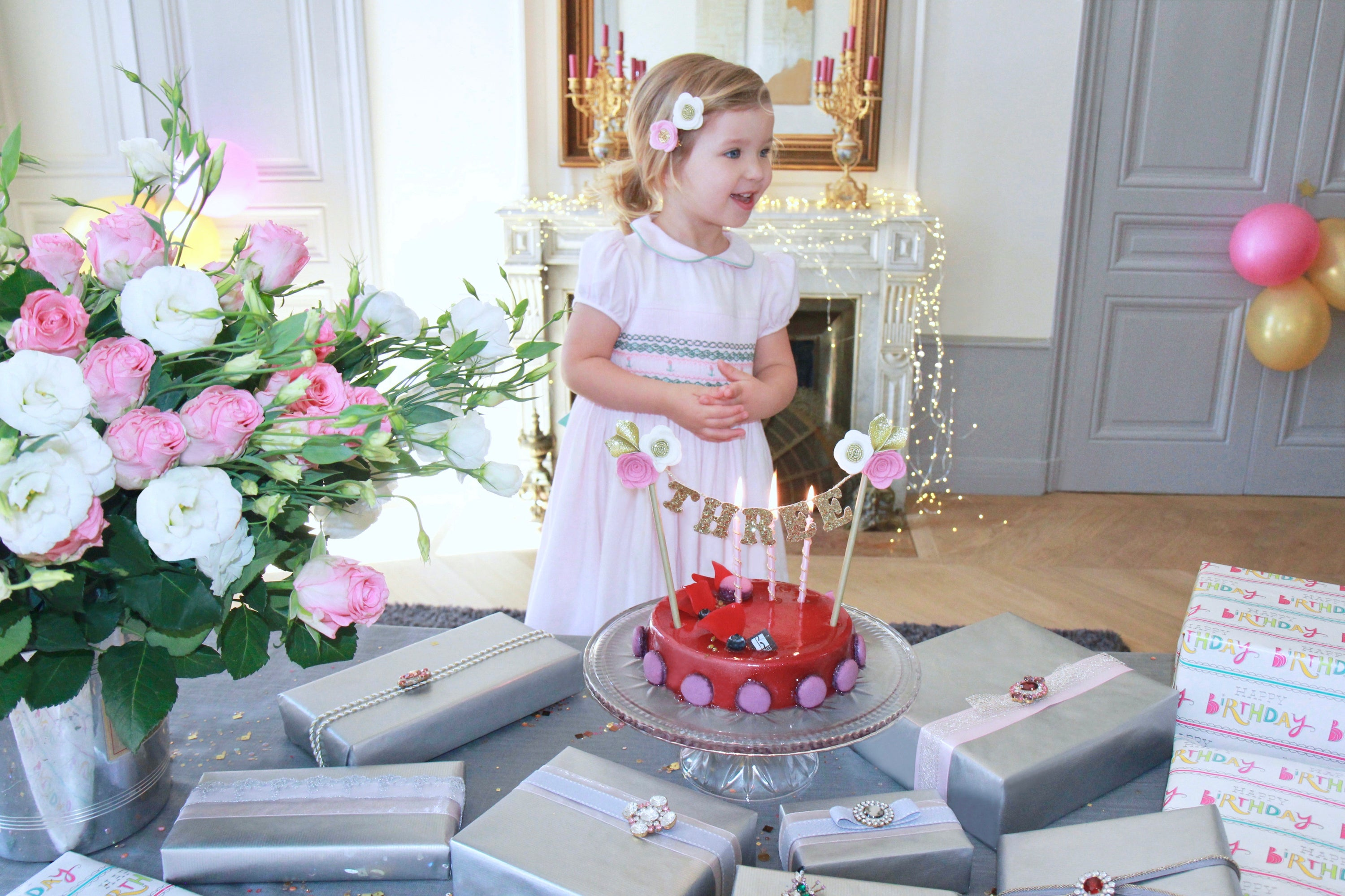 charlotte sy dimby pink birthday party smocked dresses treasure box ideas to keep children happy and busy covid
