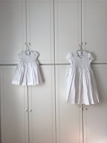 handmade christening ceremony dress - happy client