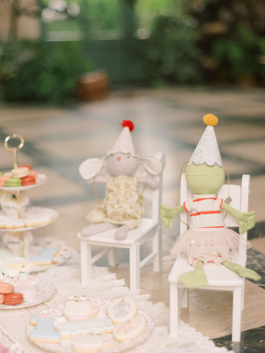 Tea party children's birthday inspiration