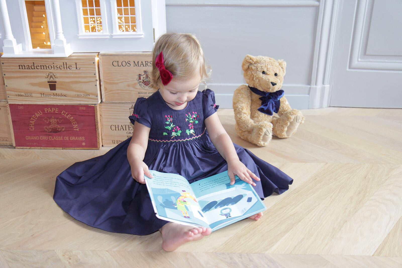 revisiting children's timeless classic games Charlotte sy dimby smocked dress